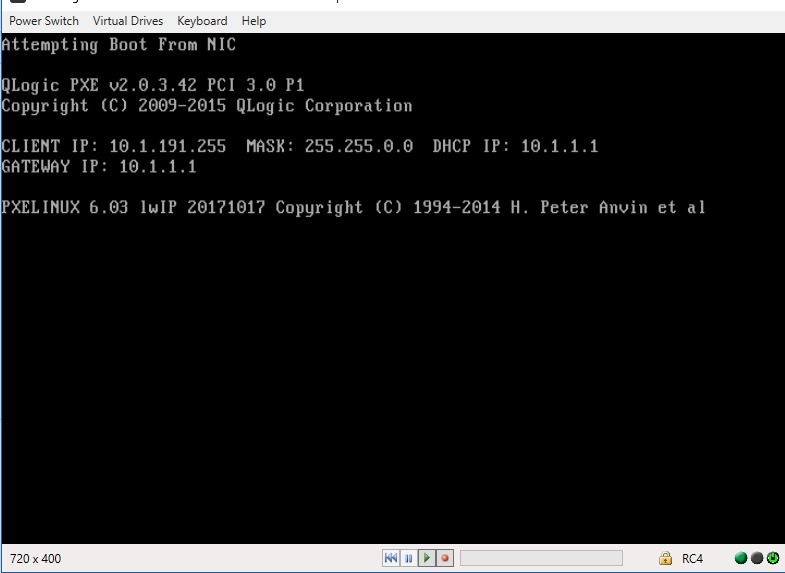 MAAS 2 5 won't PXE Qlogic 10G nic HP model# NC523SFP - Users - MAAS