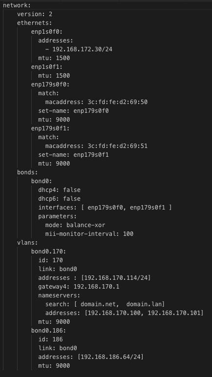 Configure netplan after deployment - Users - MAAS discourse